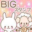 BIGSTAMP Sheep and rabbit
