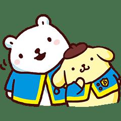 布丁狗╳白白日記 為你加油應援篇