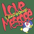 英語で伝える愛のメッセージ ペンギンVer