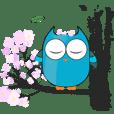 Cute Owl Fukuro