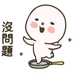 สติ๊กเกอร์ไลน์ Dough Banjuk
