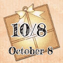 10月8日記念日BIGスタンプ