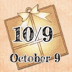 10月9日記念日BIGスタンプ
