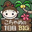 ハワイアンガールこちゃめの1日目(BIG)