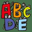 アルファベットフレンズ by nao