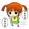 twin tail and daily life