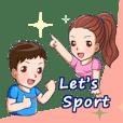 Let's Sport!  一起運動吧!