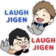 LAUGHJIGEN routine sticker