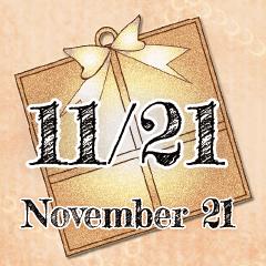 11月21日記念日BIGスタンプ