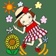 ひま子ちゃん243夏のおしゃれコーデ