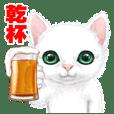 White kitty diary 2 Mandarin Chinese