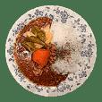 Curry Sticker DX