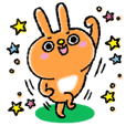 Daily sticker of rabbit 2