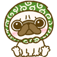 pug day sticker