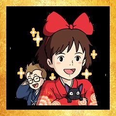 Ghibli New Year's Omikuji Stickers