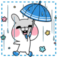 The rainy season sticker;USAKO