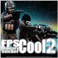 FPS Military Sticker Cool.ver02