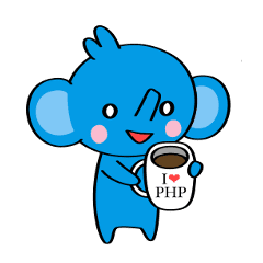 PHP Elephant Sticker – LINE stickers | LINE STORE