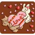 Very Sweet -Rabbit & Wolf-