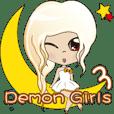 Demon Girls第3話の日常生活 日本語+中国語
