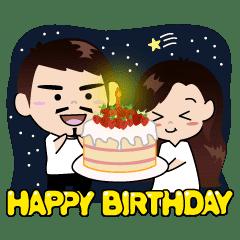 お誕生日おめでとうございます !