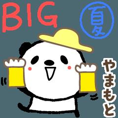Yamamoto 的可愛的熊貓大夏天貼紙