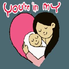 audi love mom