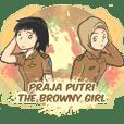 Praja Putri the Browny Girl