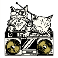 Laboratory cat