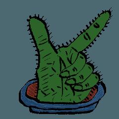 cactus hand