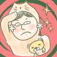 Orange cat man & Yellow bear