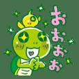 Kamekichi and Piyo Sticker