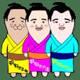 yuruyuru sumo wrestlers Vol.2