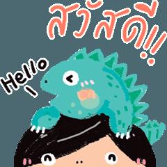 Cute & Funny Iguana