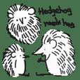 Hedgehog needs hug