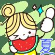 楽に使える日常スタンプ【夏ver/2】✿