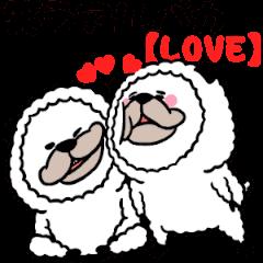 smiling alpaca(love)