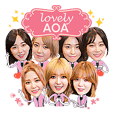 AOA OFFICIAL STICKER