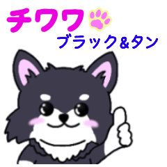 It is a LINE sticker of Chihuahua Vol.2