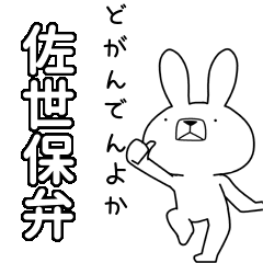 BIG Dialect rabbit [sasebo]