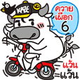 """PUEK"" Buffalo with slow life 6"