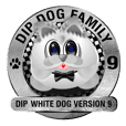 Dip White Dog