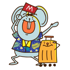 MICE Mouse and its Suitcase