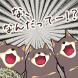 black shiba sticker Vol.2