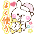 Useful cute rabbit