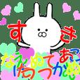 Move Chibi rabbit