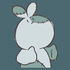 Rabbit-zombie