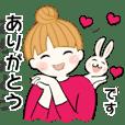 お団子ガール☆時々うさぴょんと2(再販)