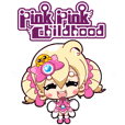 Pink Pink Childhood animated stickers 1