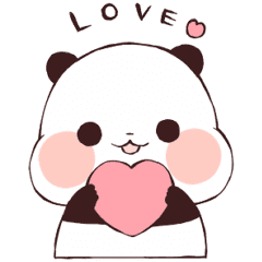 Love Love Yururinpanda Line Stickers Line Store